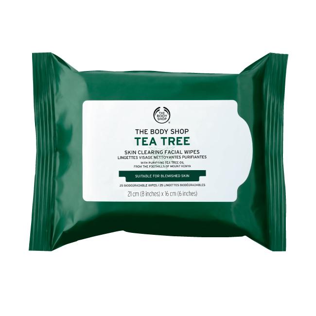 tea tree cleansing wipes 25w