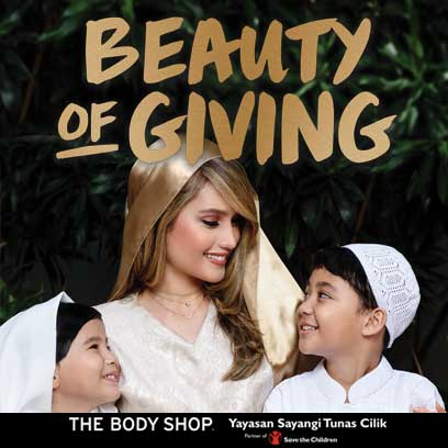 Beauty of giving