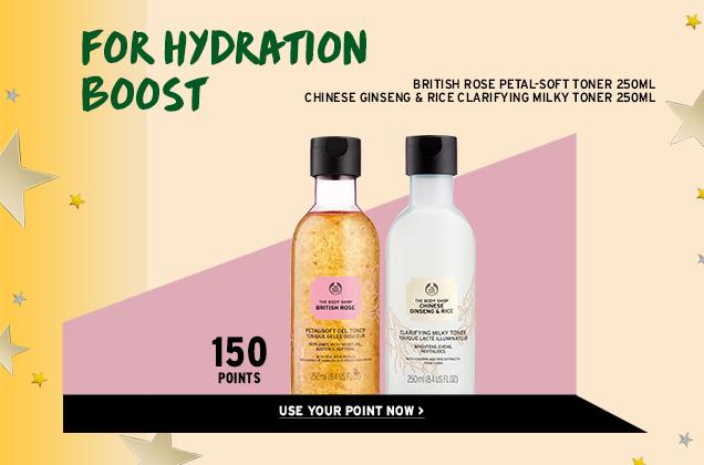 Hydration boost