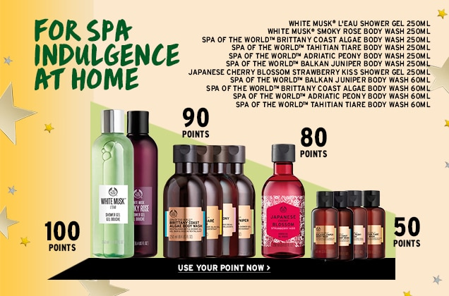For Spa Indulgence at home